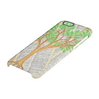 ÁRBOL DEL CONOCIMIENTO FUNDA CLEARLY™ DEFLECTOR PARA iPhone 6 DE UNCOMMON
