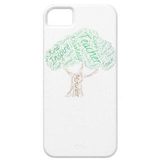Árbol del conocimiento iPhone 5 carcasas