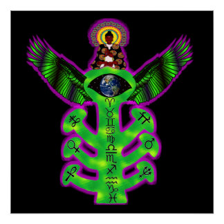 Árbol del conocimiento sagrado impresiones