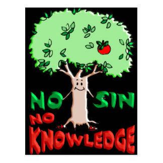 Árbol del conocimiento tarjeta postal