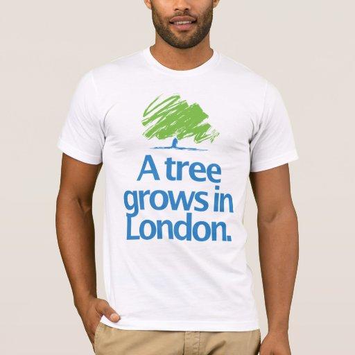 Árbol del conservador del conservador playera