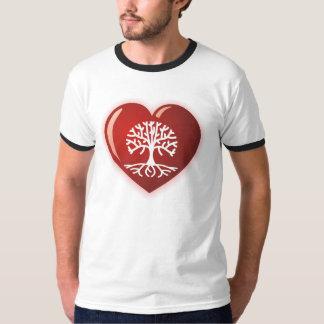 Árbol del corazón playera