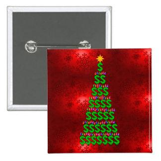 Árbol del dinero del navidad pin
