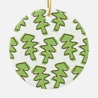 árbol del doodle adornos de navidad