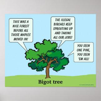 Árbol del fanático posters