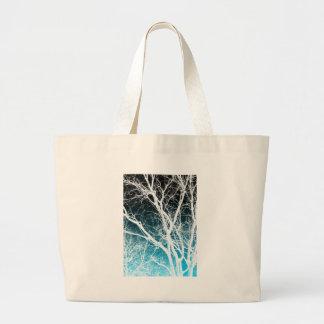 árbol del fantasma bolsa de mano