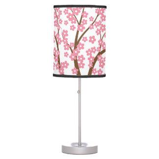 Árbol del flor de la primavera lámpara de mesilla de noche
