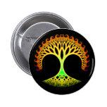 Árbol del fractal del botón de la inspiración de l pin