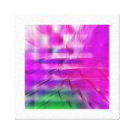 Árbol del fractal impresion de lienzo