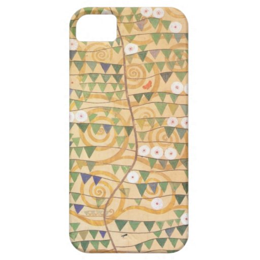Árbol del friso de Gustavo Klimt de la vida iPhone 5 Protectores