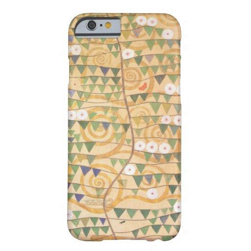 Árbol del friso de Gustavo Klimt de la vida Funda De iPhone 6 Barely There