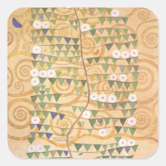 Árbol del friso de Gustavo Klimt de los pegatinas