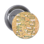 Árbol del friso de Gustavo Klimt del botón de la v Pins