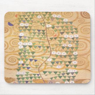 Árbol del friso de Gustavo Klimt del cojín de rató Alfombrilla De Ratón