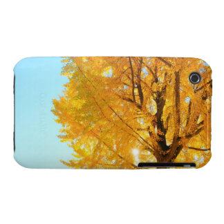 Árbol del Gingko, prefectura de Nagano, Japón Funda Bareyly There Para iPhone 3 De Case-Mate