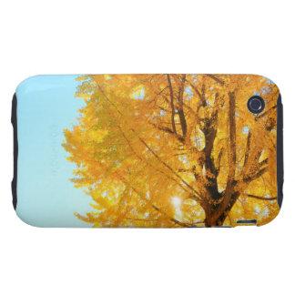 Árbol del Gingko, prefectura de Nagano, Japón Funda Resistente Para iPhone 3