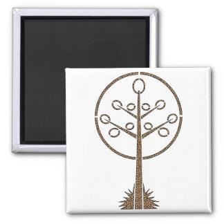 Árbol del guepardo imanes para frigoríficos