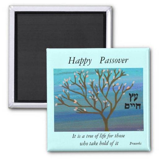 Árbol del imán del Passover de la vida
