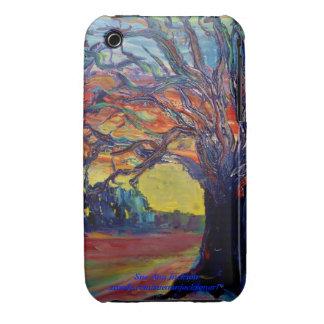 Árbol del invierno funda para iPhone 3