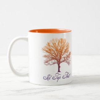 """Árbol del jarabe de arce que golpea ligeramente """"g tazas de café"""
