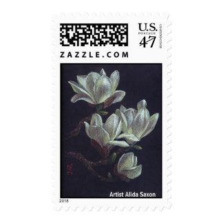 Árbol del lirio timbres postales