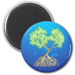 Árbol del mangle imán
