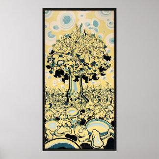Árbol del mono póster