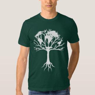 Árbol del mundo playera