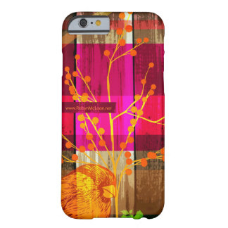 Árbol del n del pájaro funda de iPhone 6 barely there