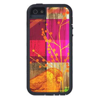 Árbol del n del pájaro iPhone 5 fundas