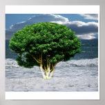 Árbol del océano poster