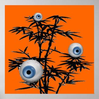 Árbol del ojo poster