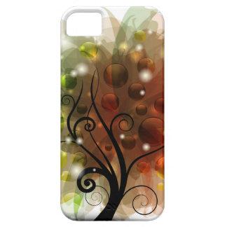 Árbol del otoño iPhone 5 carcasas