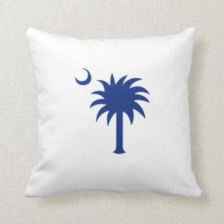 Árbol del Palmetto de Carolina del Sur Cojín