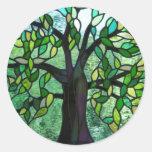 Árbol del pegatina del encantamiento