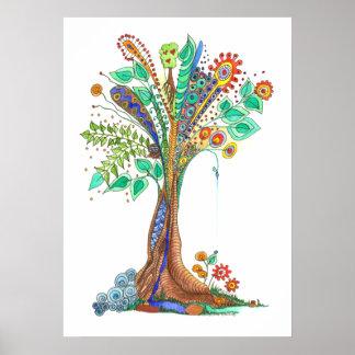 árbol del poster de la vida #11