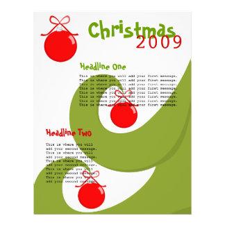"""Árbol del remolino folleto 8.5"""" x 11"""""""