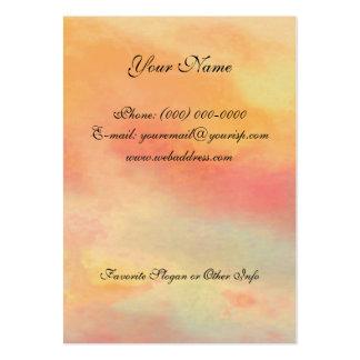Árbol del rezo de la serenidad y tarjeta del tarjetas de visita grandes