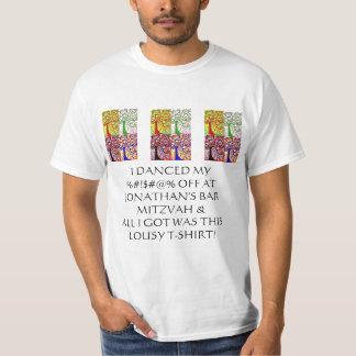 """Árbol del """"sorteo malísimo de la camiseta"""" de camisas"""