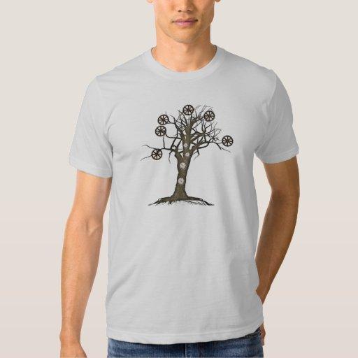 árbol del steampunk playeras
