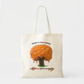 árbol del tocino bolsa de mano