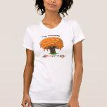árbol del tocino camisetas