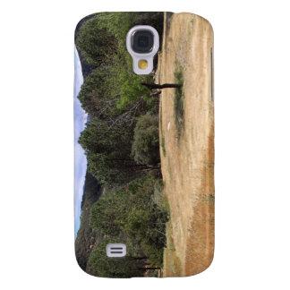 Árbol del valle de Ojai en campo Funda Para Galaxy S4