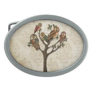 Árbol del vintage de la hebilla del cinturón de lo hebillas cinturón