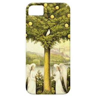 Árbol del vintage del ejemplo cristiano 1892 de la iPhone 5 funda