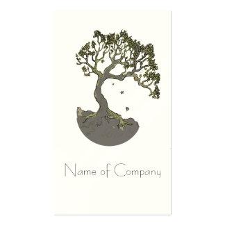 Árbol del zen, tarjetas de visita