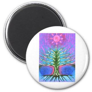 Árbol eléctrico imán redondo 5 cm