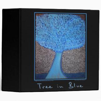 Árbol en carpeta azul