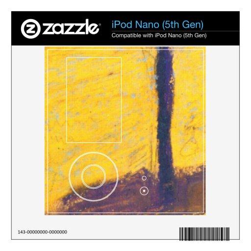 Árbol en Cornfeld en agosto Macke Skin Para El iPod Nano