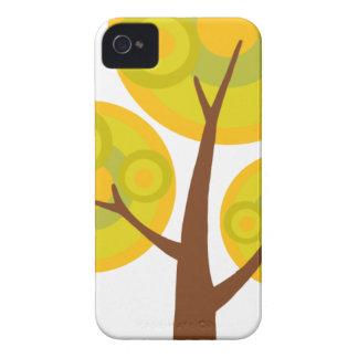 árbol en la caída iPhone 4 cárcasas
